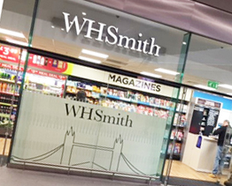 WH Smith at London Bridge