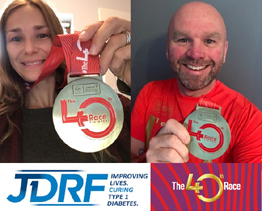 London Mararthon for JDRF UK