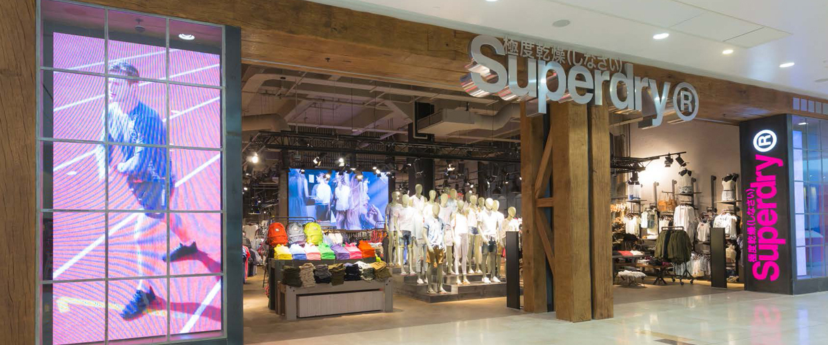 Superdry Fitout
